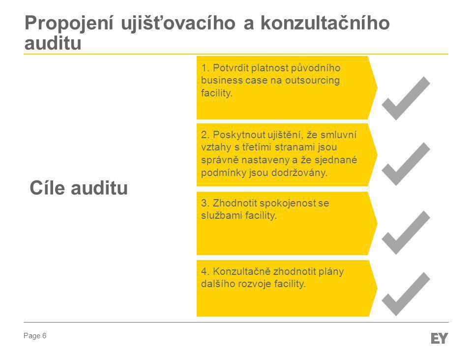 Propojení ujišťovacího a konzultačního auditu