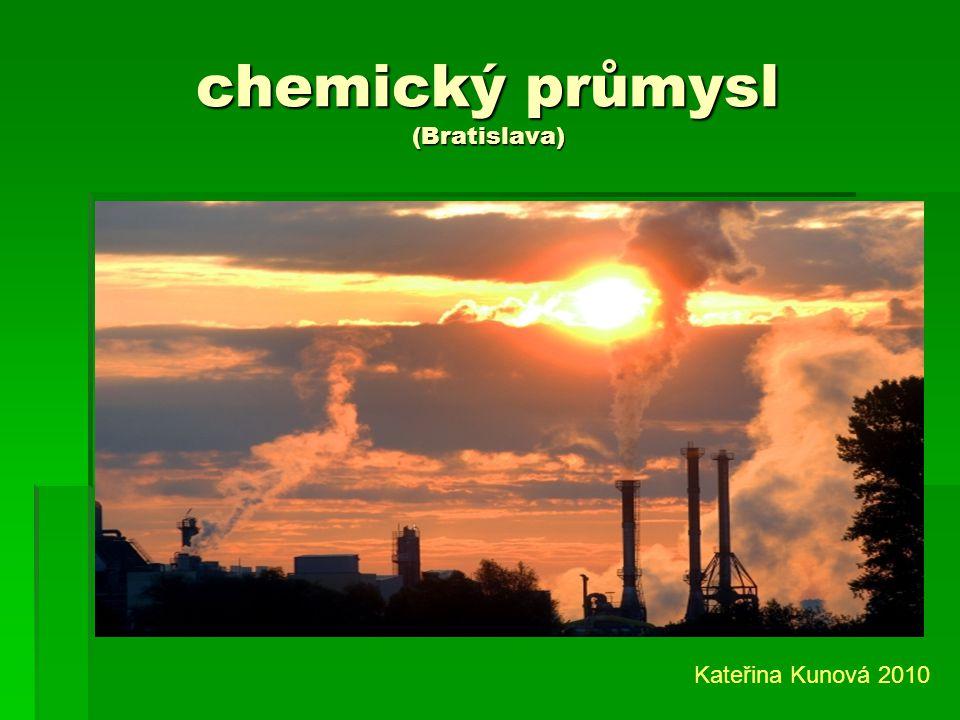 chemický průmysl (Bratislava)