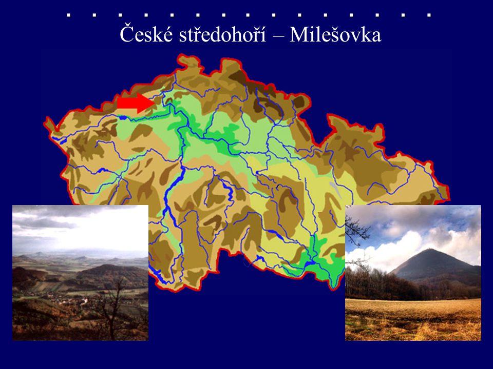 České středohoří – Milešovka