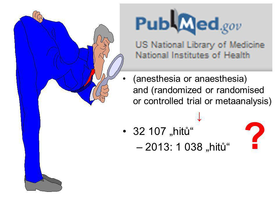 (anesthesia or anaesthesia) and (randomized or randomised or controlled trial or metaanalysis)