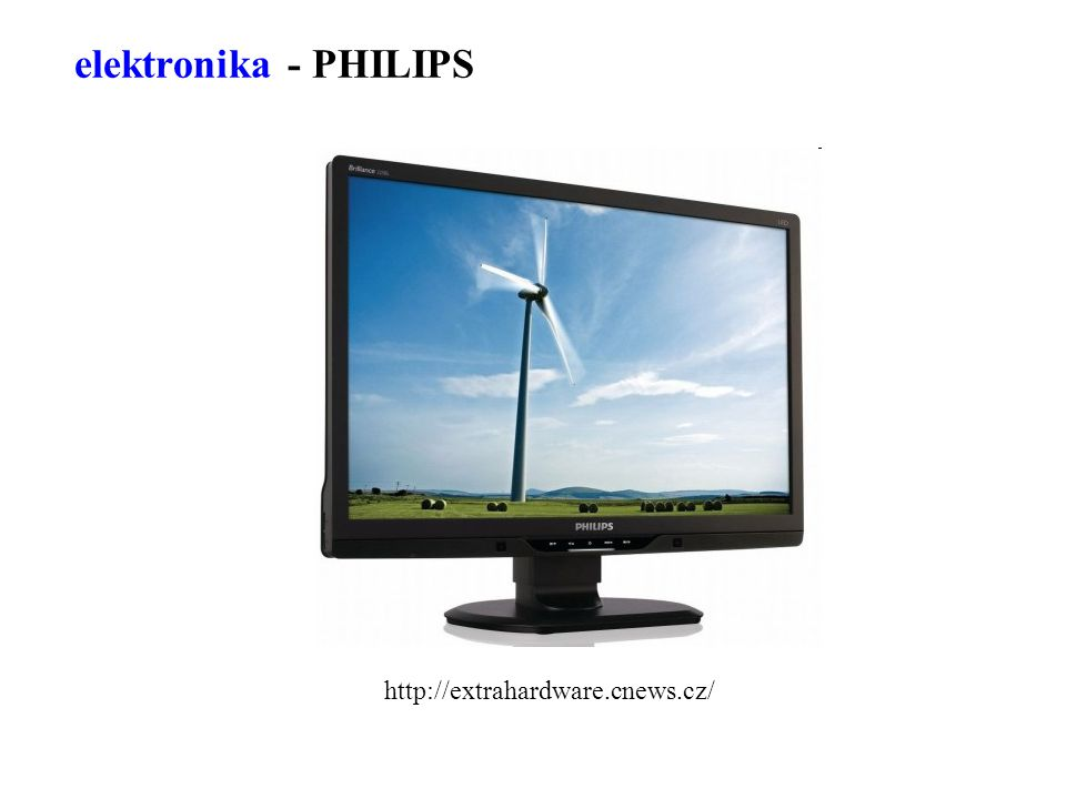elektronika - PHILIPS http://extrahardware.cnews.cz/