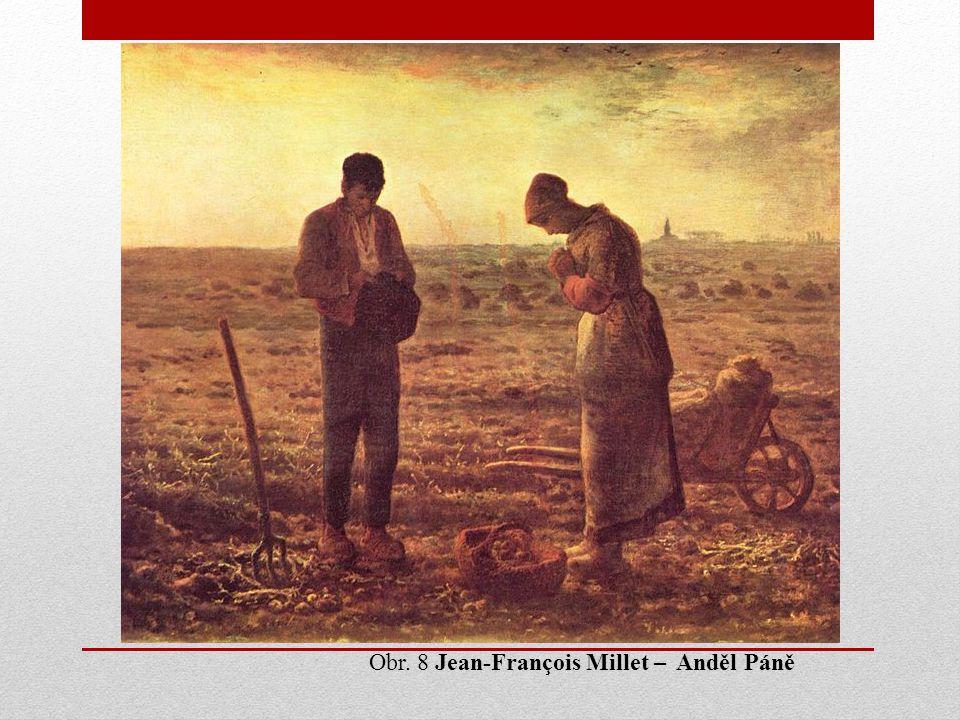 Obr. 8 Jean-François Millet – Anděl Páně
