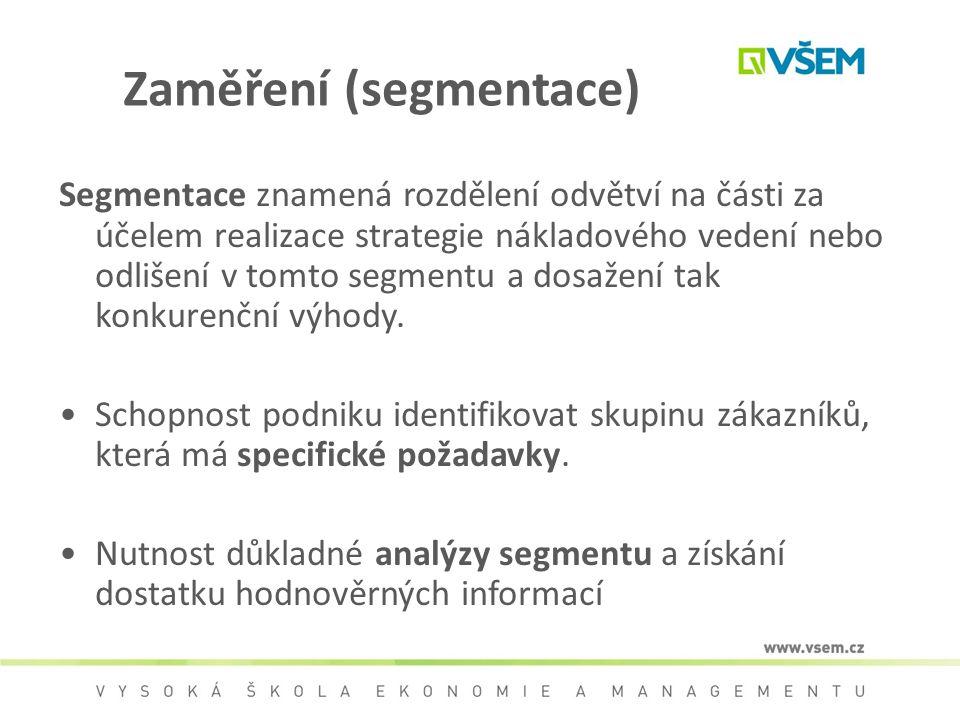 Zaměření (segmentace)
