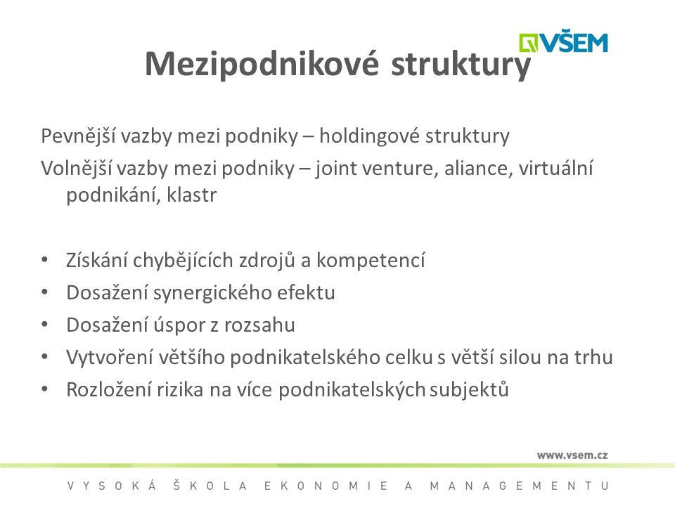 Mezipodnikové struktury