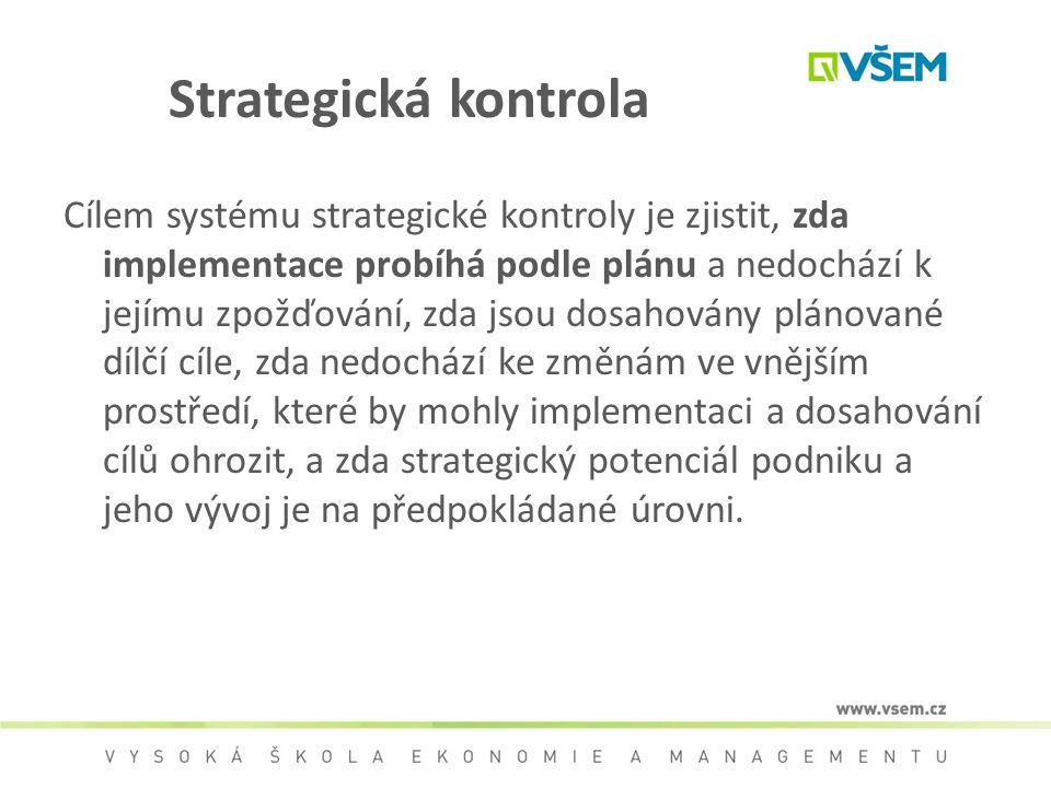 Strategická kontrola