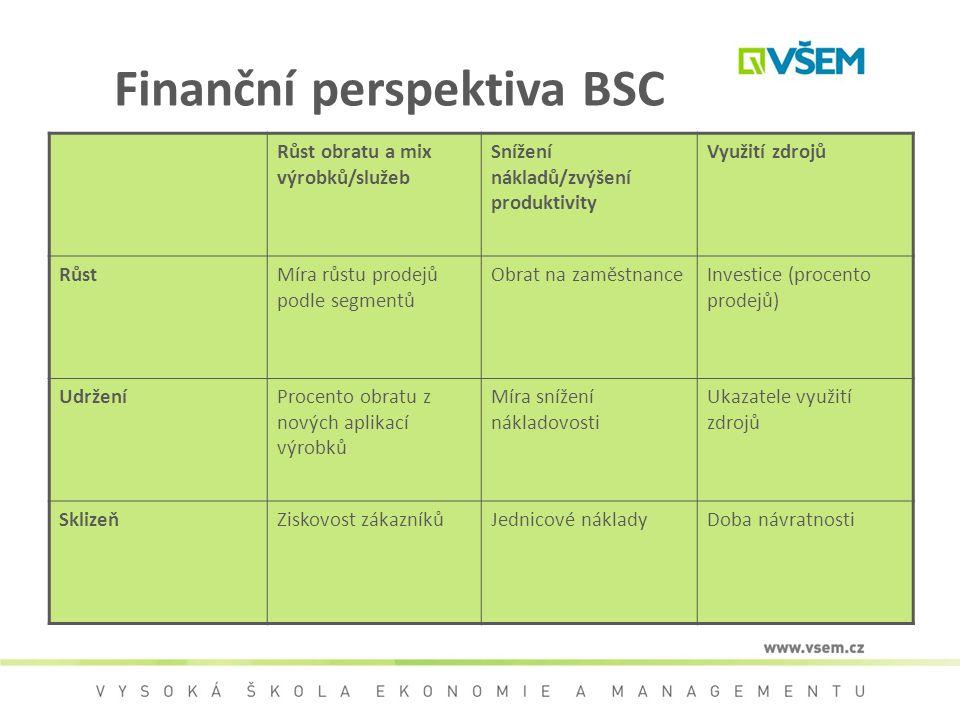 Finanční perspektiva BSC