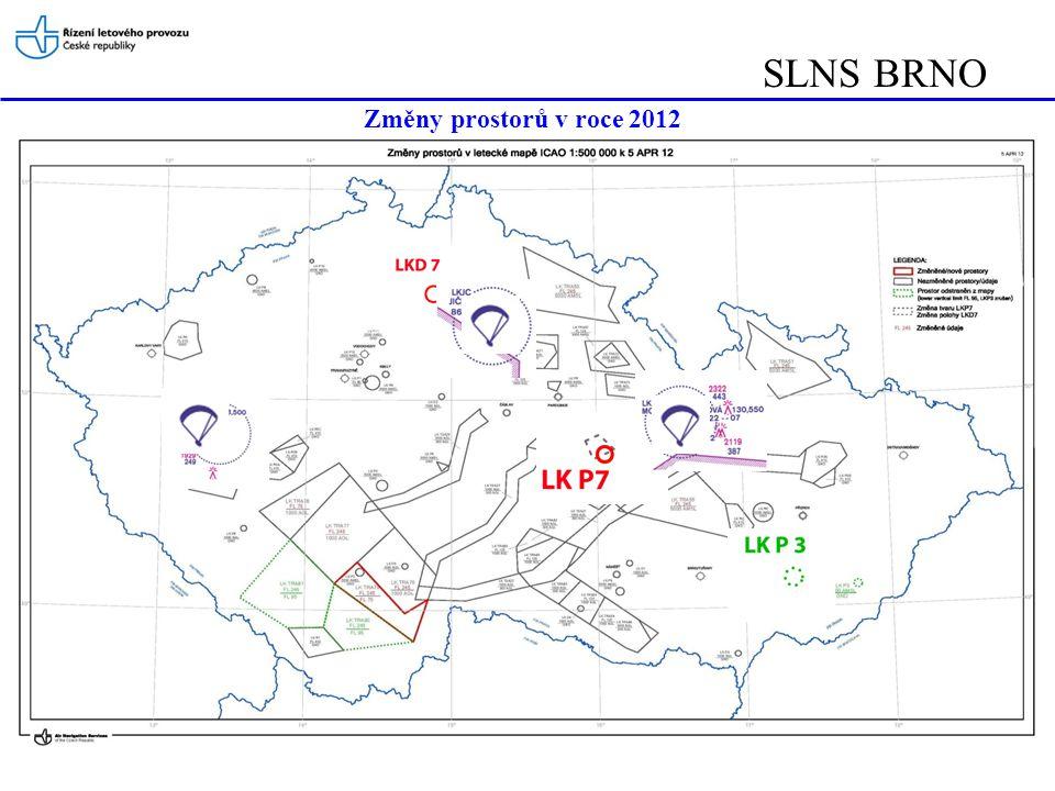 SLNS BRNO Změny prostorů v roce 2012