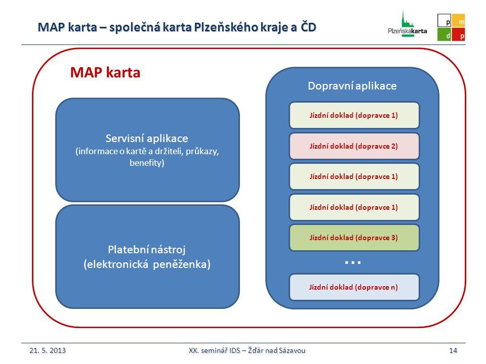 … MAP karta MAP karta – společná karta Plzeňského kraje a ČD