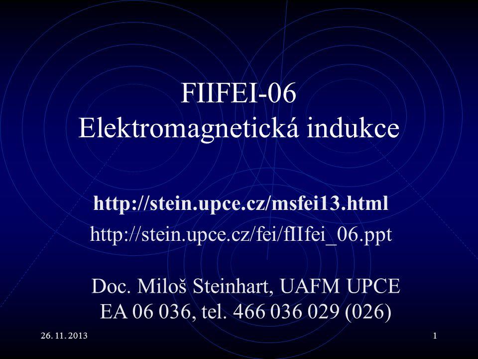 FIIFEI-06 Elektromagnetická indukce
