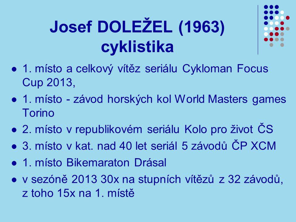 Josef DOLEŽEL (1963) cyklistika