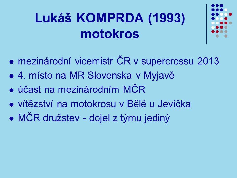 Lukáš KOMPRDA (1993) motokros