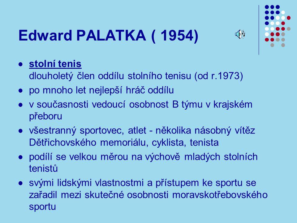 Edward PALATKA ( 1954)
