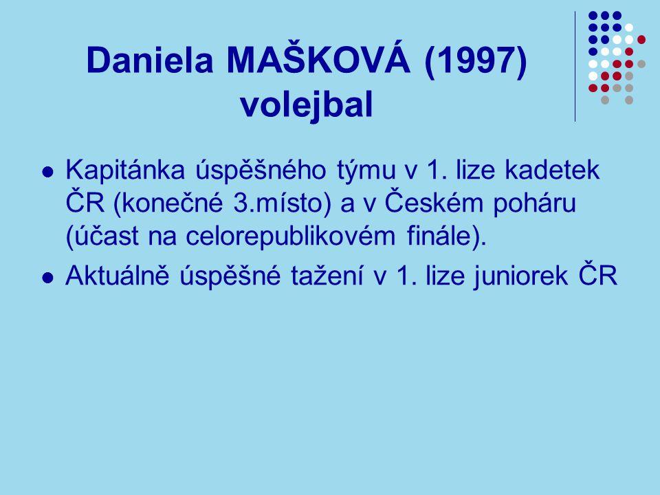 Daniela MAŠKOVÁ (1997) volejbal