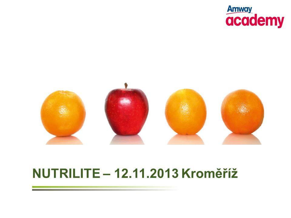 NUTRILITE – 12.11.2013 Kroměříž
