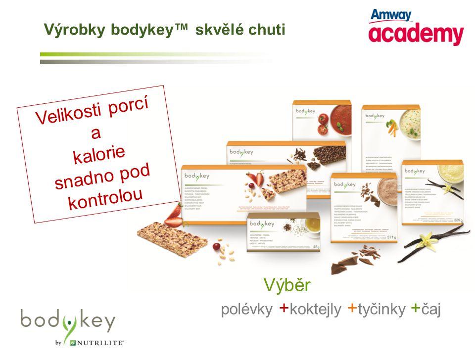 Výrobky bodykey™ skvělé chuti
