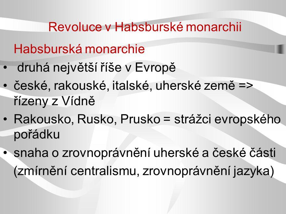 Revoluce v Habsburské monarchii