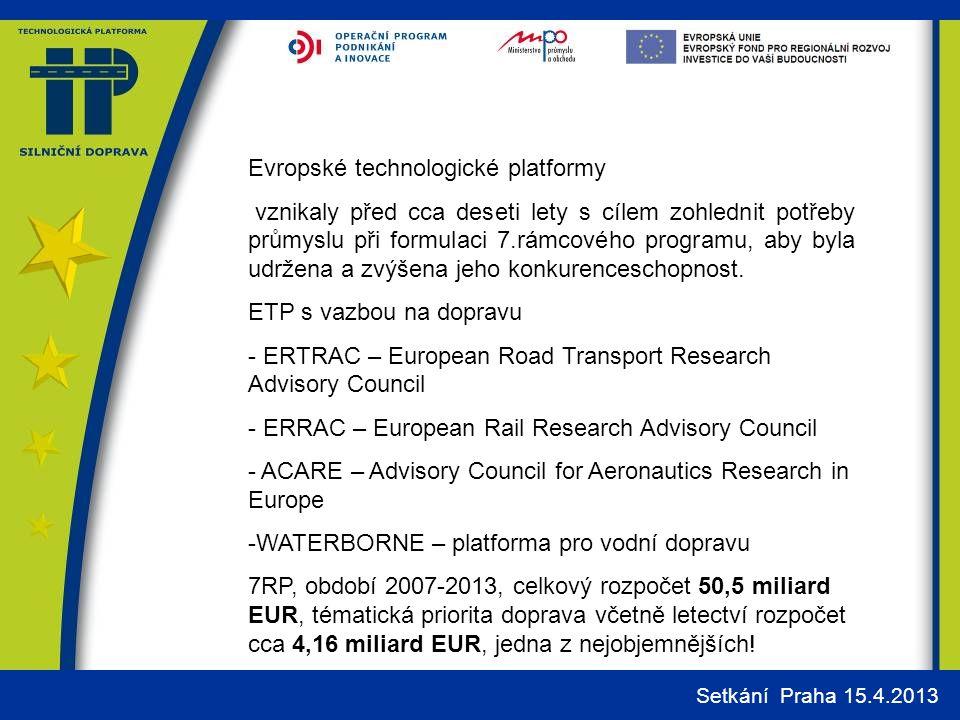 Evropské technologické platformy