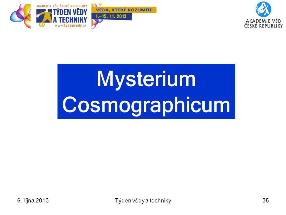 Mysterium Cosmographicum