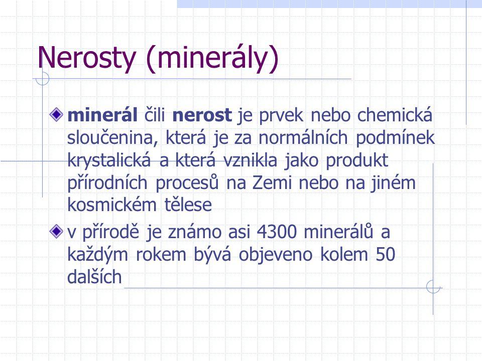 Nerosty (minerály)