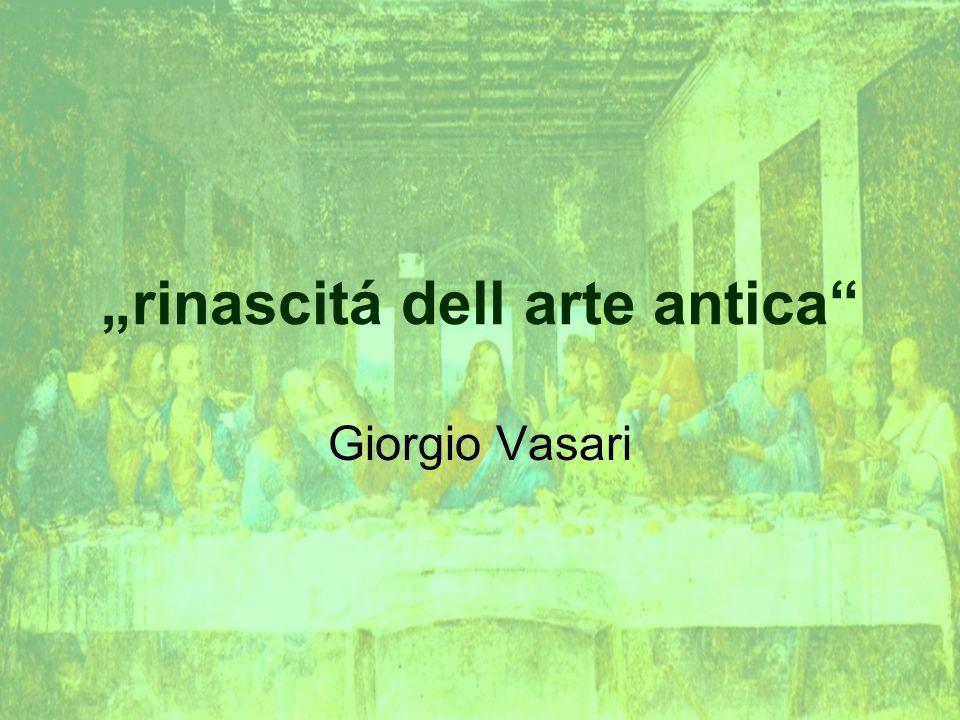 """""""rinascitá dell arte antica"""