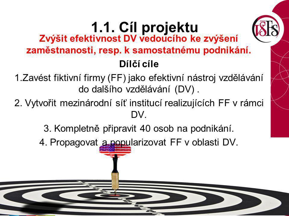 1.1. Cíl projektu