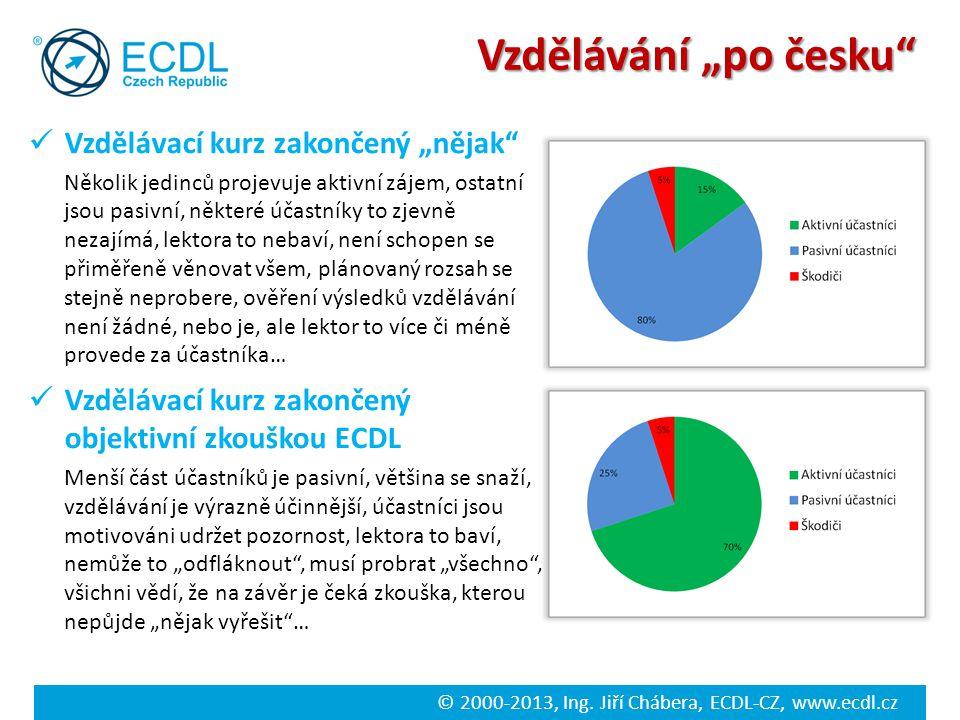 """Vzdělávání """"po česku Zjednodušená zkušenost…"""