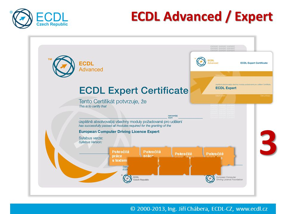 ECDL Advanced / Expert 3