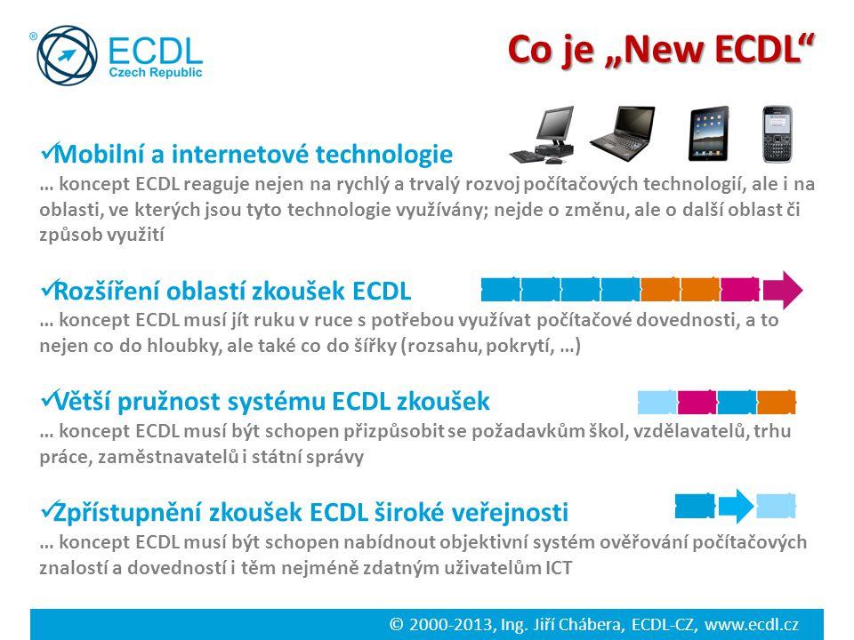 """Co je """"New ECDL Mobilní a internetové technologie"""