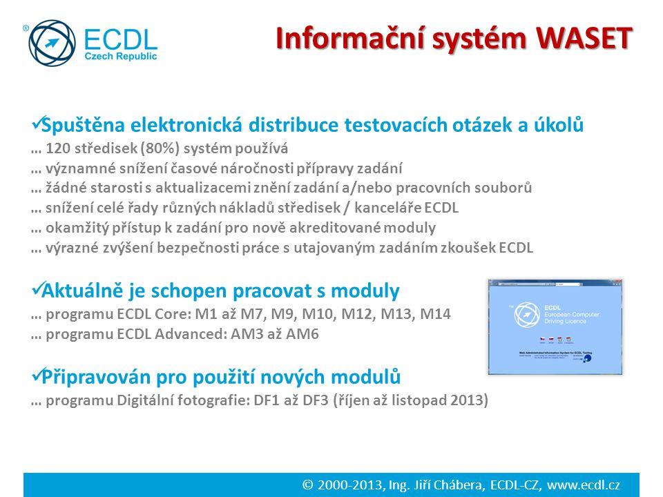 Informační systém WASET
