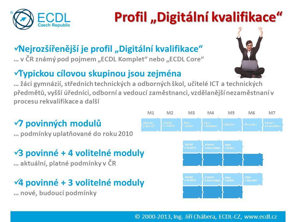 """Profil """"Digitální kvalifikace"""