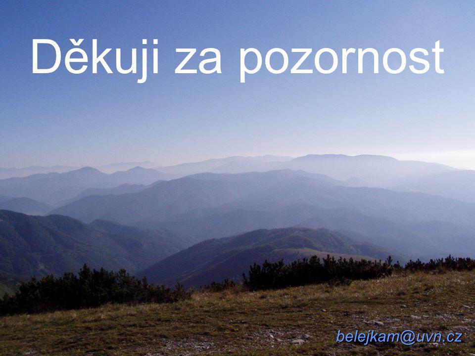 Děkuji za pozornost belejkam@uvn.cz