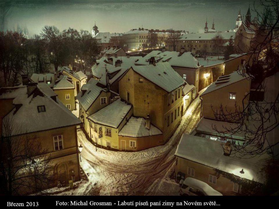 Foto: Michal Grosman - Labutí píseň paní zimy na Novém světě...