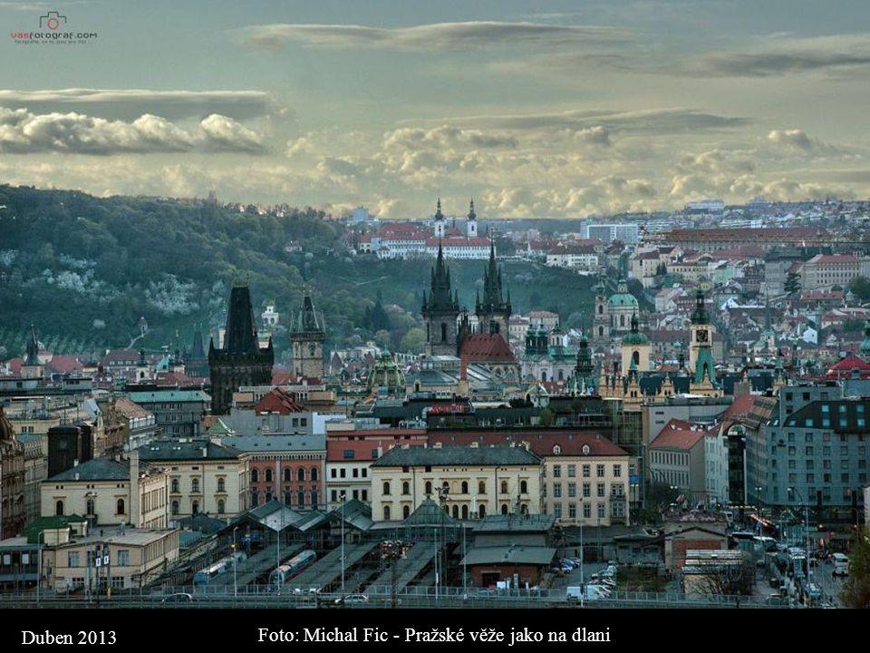 Foto: Michal Fic - Pražské věže jako na dlani