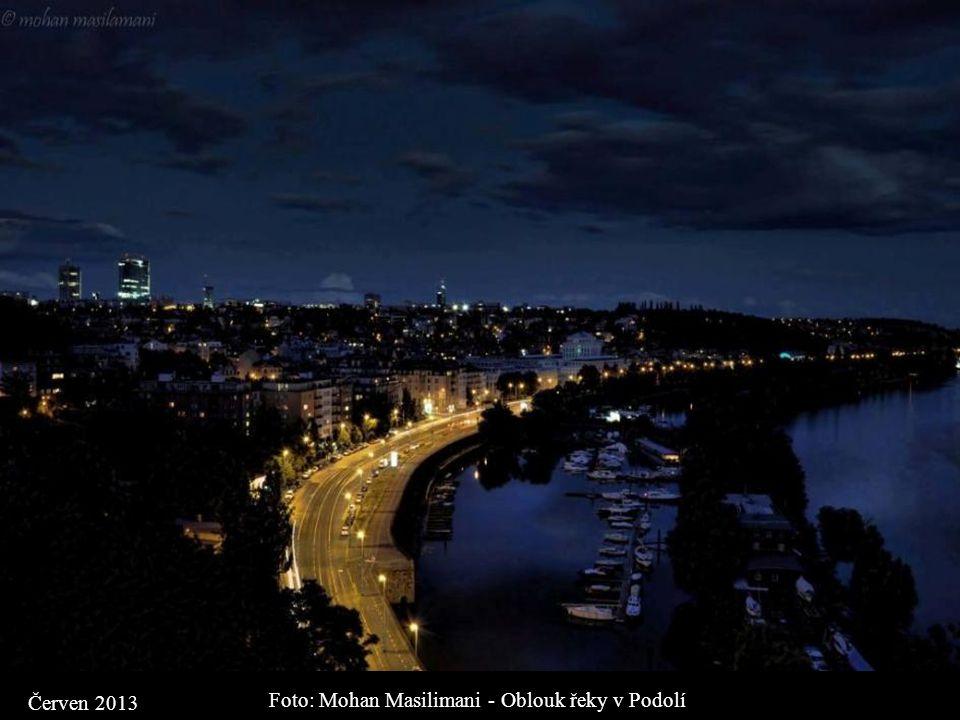 Foto: Mohan Masilimani - Oblouk řeky v Podolí