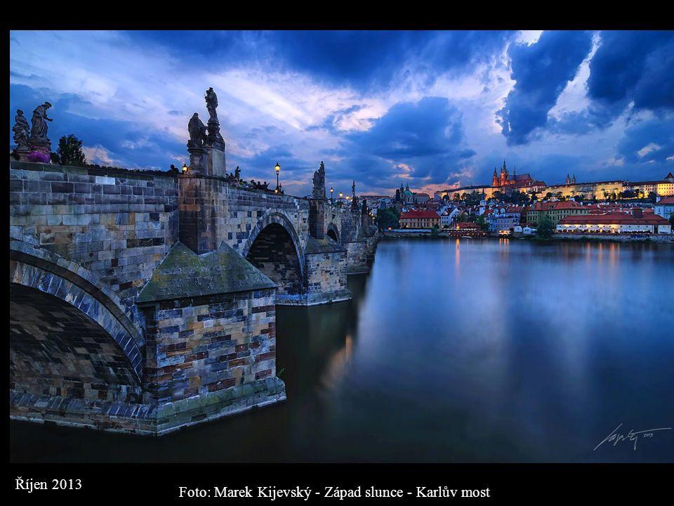 Foto: Marek Kijevský - Západ slunce - Karlův most