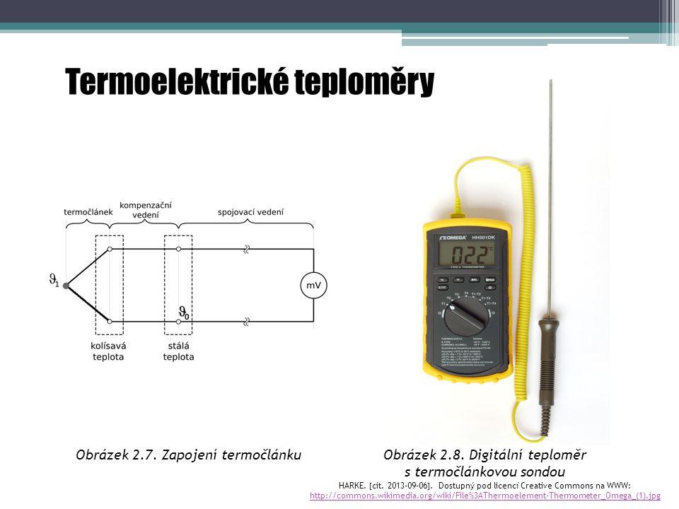 Termoelektrické teploměry