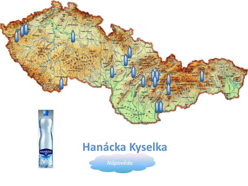 Hanácka Kyselka Nápověda obec Horní Moštěnice, okres Přerov