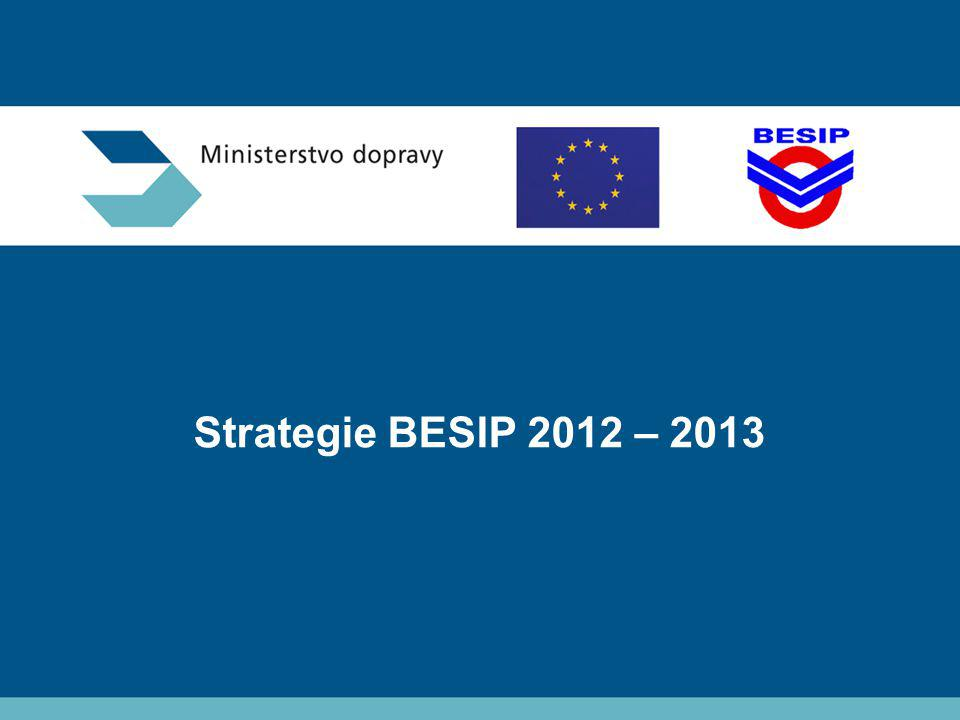 Strategie BESIP 2012 – 2013 Ministerstvo dopravy – BESIP