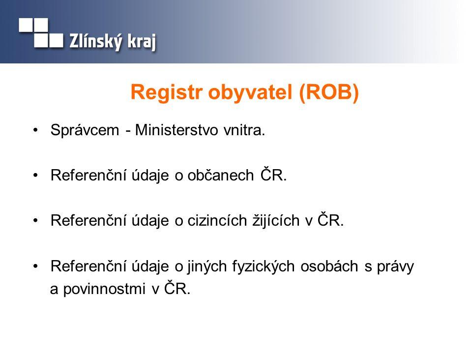 Registr obyvatel (ROB)