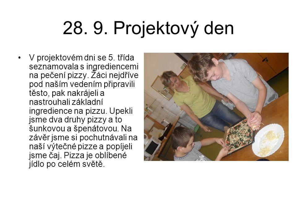 28. 9. Projektový den