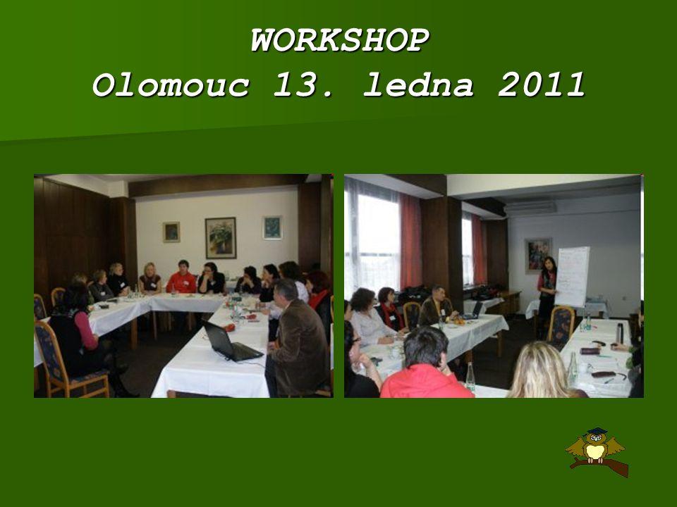 WORKSHOP Olomouc 13. ledna 2011