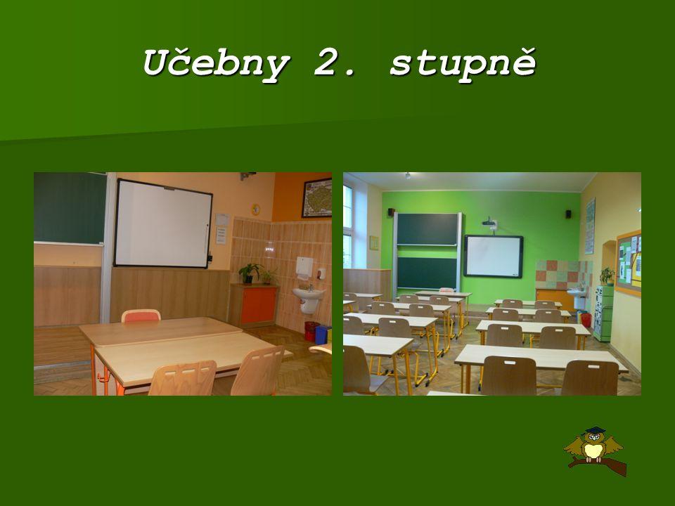Učebny 2. stupně
