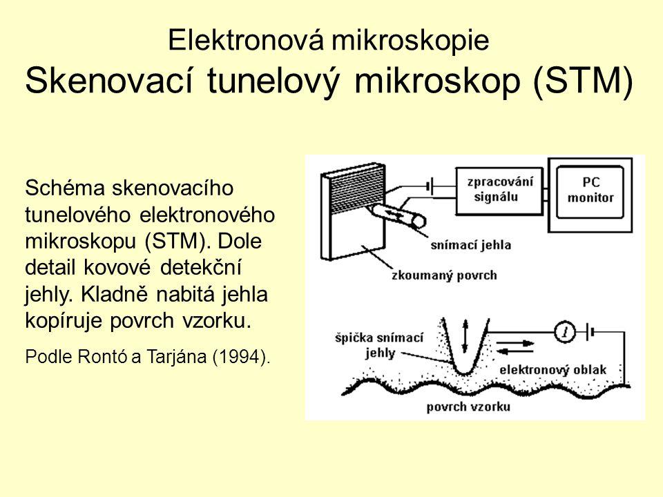Elektronová mikroskopie Skenovací tunelový mikroskop (STM)