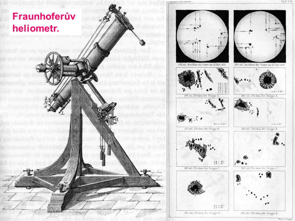 Fraunhoferův heliometr.