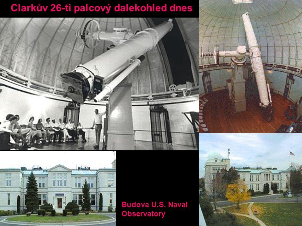 Clarkův 26-ti palcový dalekohled dnes