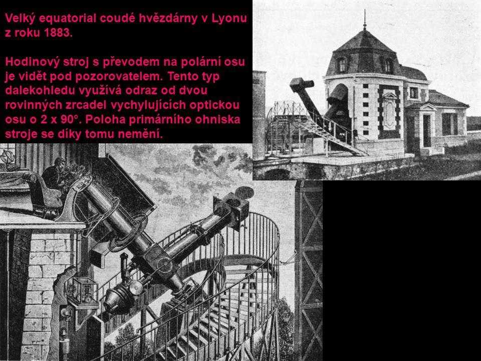 Velký equatorial coudé hvězdárny v Lyonu