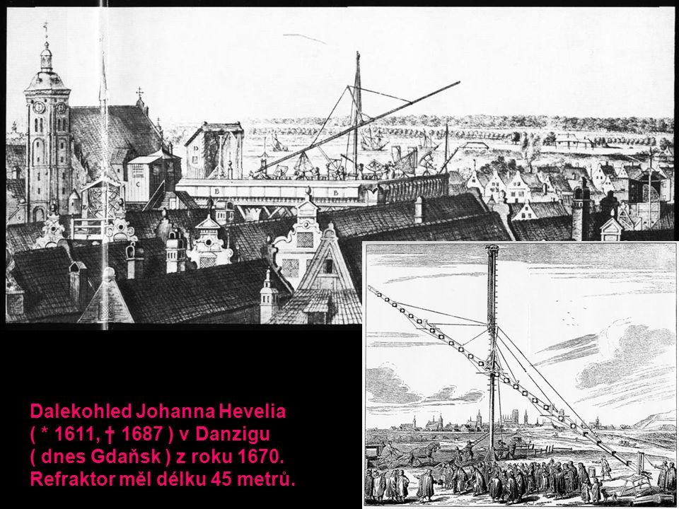 Dalekohled Johanna Hevelia