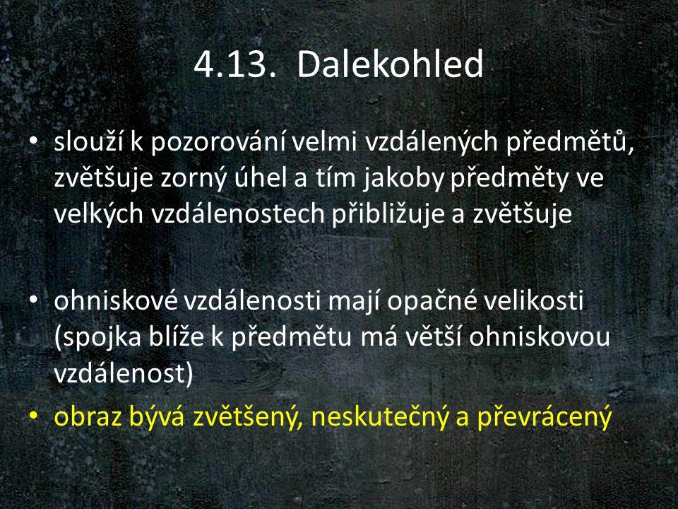 4.13. Dalekohled