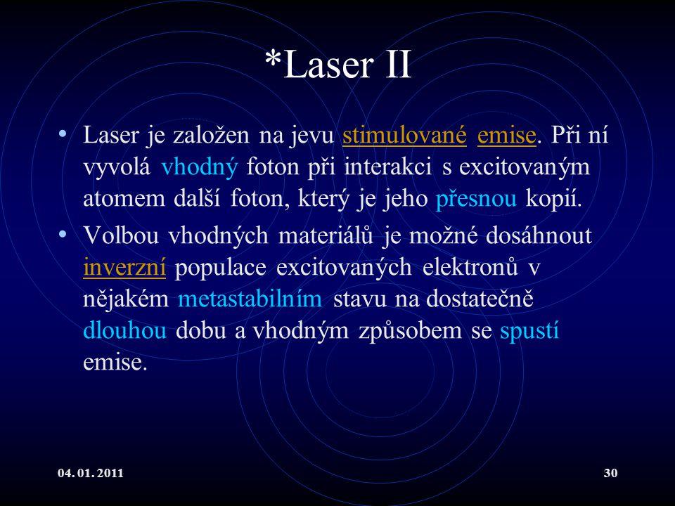 *Laser II