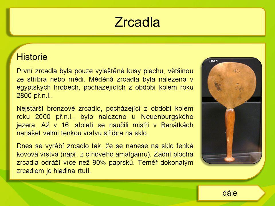 Zrcadla Historie.